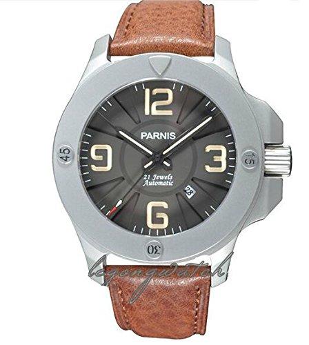 PARNIS パー二スメンズ 腕時計 MIYTOA 自動巻 カレンダー P-7 (並行輸入品) B00NY4J20S