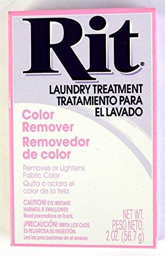 Rit Dye Laundry Treatment Color Remover Powder, 2 oz, 3-Pack