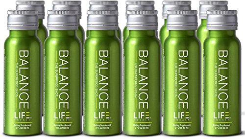 Superfood Shot Containing Organic Fruits, Vegetables and Greens, Pre-Mixed Green Drink to Take on the Go, 2oz. Serving, Vegan, Gluten-Free (12 pack)
