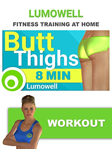 8 Minute BUTT & THIGHS Workout for Beginner - Fitness Routine