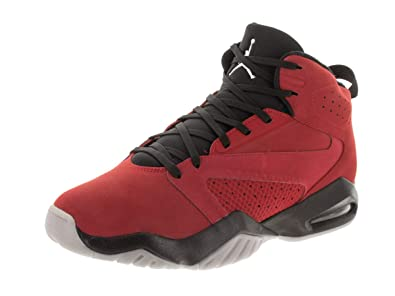 42d3fb37364 Nike Jordan Mens Jordan Lift Off Synthetic Leather Gym Red Black Trainers  8.5 US