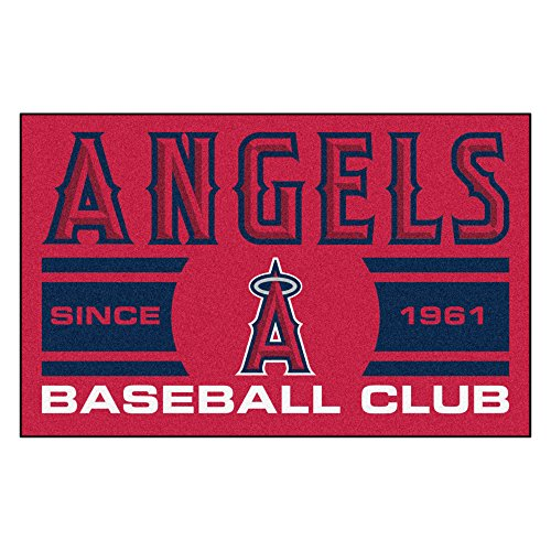 (FANMATS 18471 Los Angeles Angels Baseball Club Starter Rug)