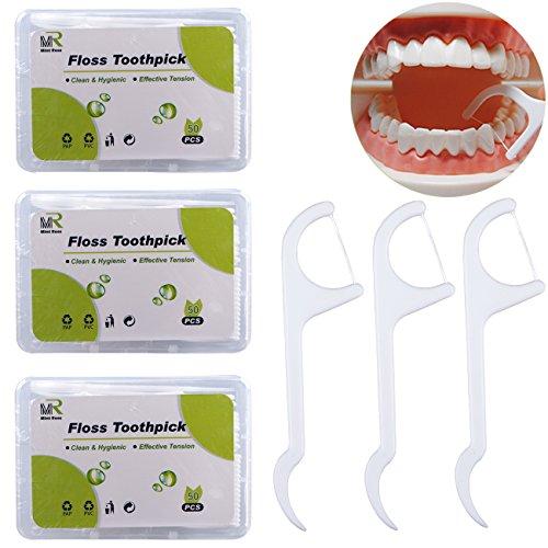Floss Sticks, Dental Floss Picks Toothpick Floss for Adult Kids 150 Count