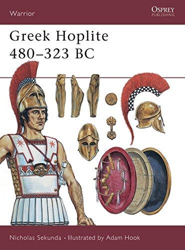 Download Greek Hoplite 480–323 BC (Warrior) PDF