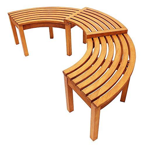(Achla Designs Alexandria Patio Tree Bench)