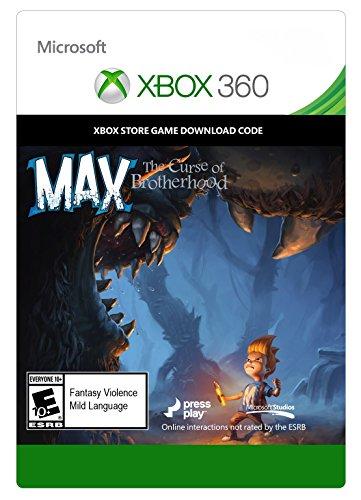 Max: The Curse of Brotherhood - Xbox 360 Digital Code by Microsoft