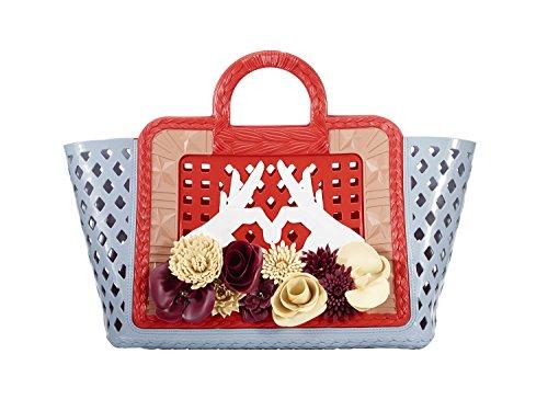 Donna Modello rosso Paula Kartell Da Azzurro Parati Borsa Designer Mano Cademartori A qwFqI7OR1X