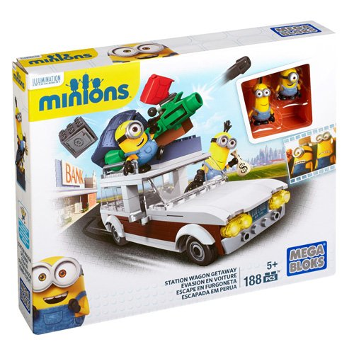 Mega Bloks Minions Station Wag...