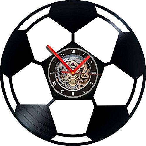 Reloj de Vinilo, Balón de Fútbol, Fútbol, Reloj de Fútbol, Regalo ...