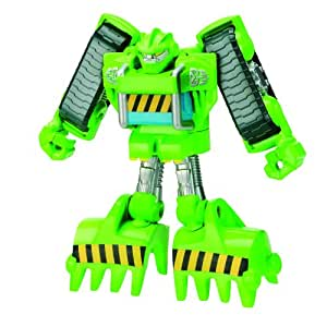 Transformers Rescue Bots Playskool Heroes Boulder The Construction-Bot Figure