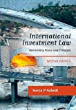 International Investment Law, Surya Subedi, 1849462453