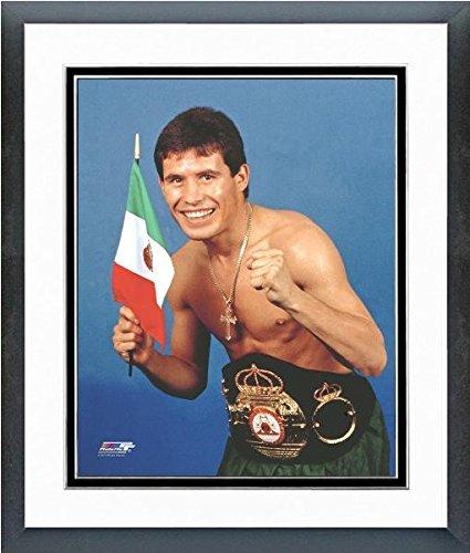 Chavez Framed - Julio Cesar Chavez Posed Studio Photo (Size: 12.5
