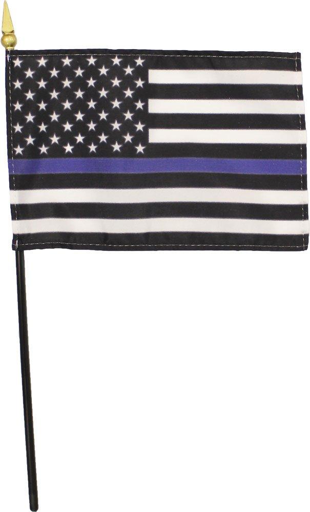 "Wholesale Lot of 12 Botswana 4/""x6/"" Desk Table Stick Flag"