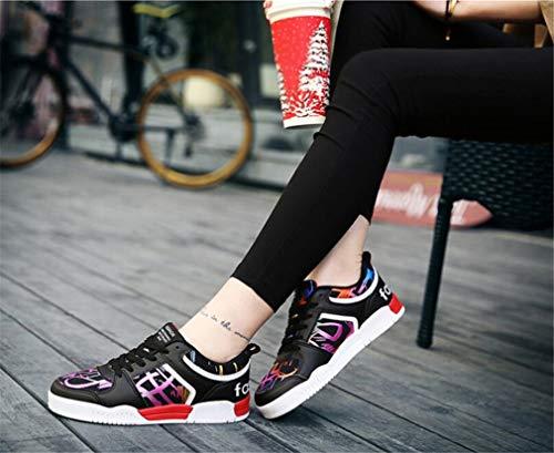weiße Turnschuhe Sommer Damenschuhe Kleine Keilabsatz Schuhe Unsichtbare Erhöhung D Hohlen up Lace Frühling Neue WXBU6