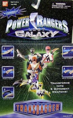 Power Rangers Galaxy (Power Rangers Lost Galaxy Transdagger)
