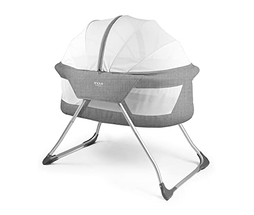 Inovi Cocoon Travel Crib (Grey)