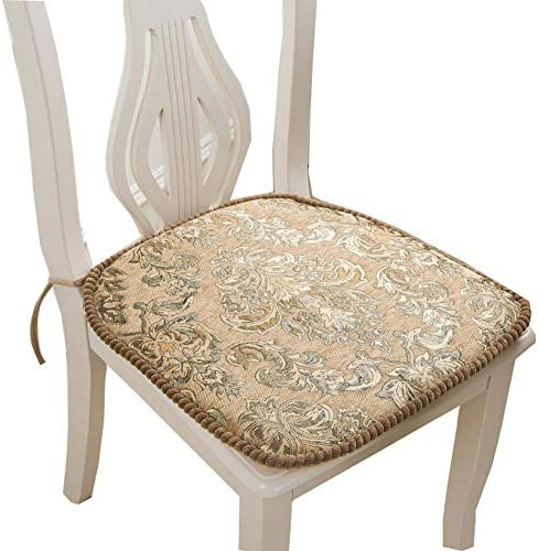 Best outdoor chair cushion: Chinese Embroidery Dining Cushion Removable Office Chair Pads Car Seat Gold