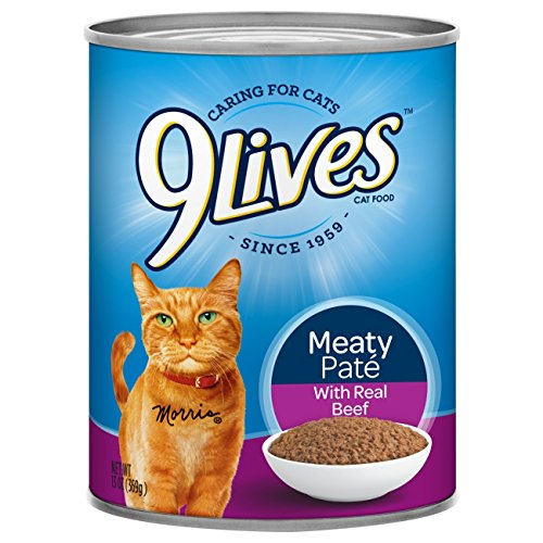 9Lives Meaty Pat%C3%A9 Real Beef product image