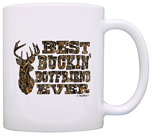 Country Boyfriend Buckin Coffee White