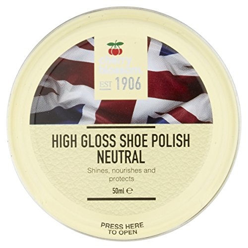 Cherry Blossom High Gloss Shoe Polish, neutral, 1.69 oz