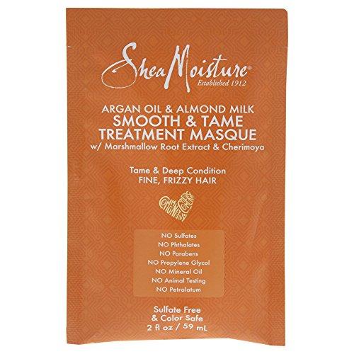 Shea Moisture Argan oil & almond milk smooth & tame treatmen