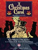 """Image of A Christmas Carol - Illustrated, Large Print, Large Format: Giant 8.5"""" x 11"""" Size: Large, Clear Print & Pictures - Illustrated by Arthur Rackham, Complete & Unabridged! (University of Life Library)"""