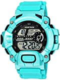 Armitron Sport Men's 40/8386TEL Digital Chronograph Teal Resin Strap Watch
