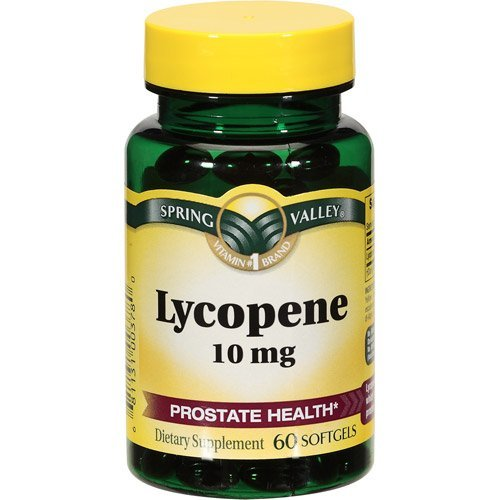 Spring Valley - Lycopene 10 mg, 60 Softgels by Spring Valley
