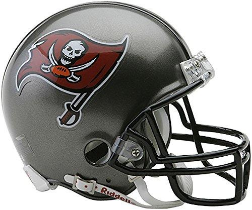Sports Memorabilia Riddell Tampa Bay Buccaneers Throwback 1997-2013 VSR4 Mini Football Helmet - NFL Mini Helmets ()