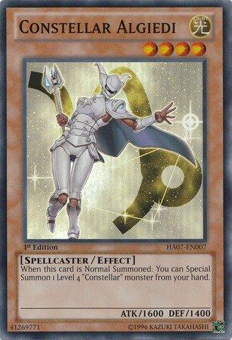 YU-GI-OH! - Constellar Algiedi (HA07-EN007) - Hidden Arsenal 7: Knight of Stars - 1st Edition - Super Rare
