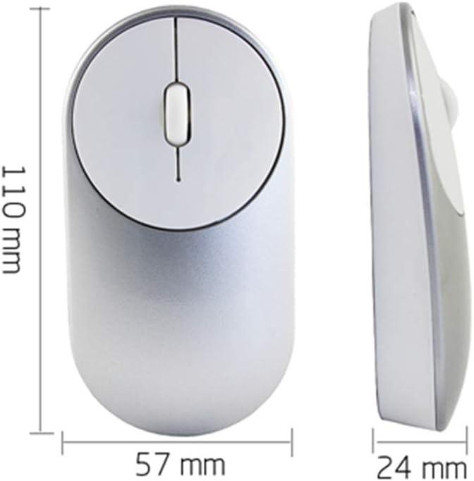 BINGFEI Wireless Computer Mouse Mute Silent Click Button 1600DPI USB Optical Gaming Mice Ergonomic Mause Gamer
