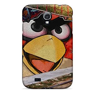Durable Protector Case Cover With Hungry Murales Hot Design For Galaxy S4