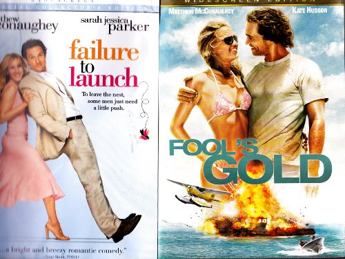 Fools Gold Dvd - Fools Gold , Failure to Launch : Matthew Mcconaughey 2 Pack