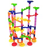 105 Pieces Marble Run Railway Maze Balls Track Toys Construction Child Building Blocks Toys, Children Gift Kid's Toy