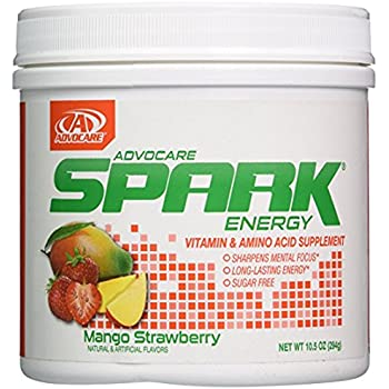 Advocare Spark Canister Mango Strawberry - Brand New!