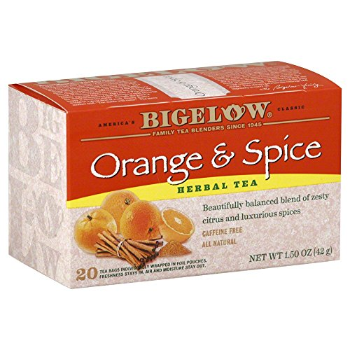 Orange & Spice Herbal Tea 20 tea bags