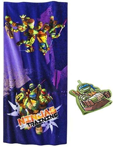 Kids Warehouse TMNT Ninjas Training Bath Towel