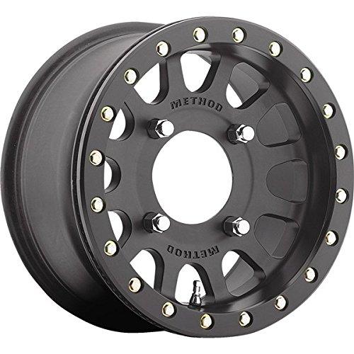 method-401-beadlock-matte-black-atv-utv-wheel-14x7-4-156-5-2-mr40147046552b