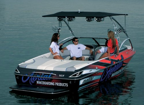 Aerial Eclipse Bimini for Wakeboard Towers - Sunbrella Jet
