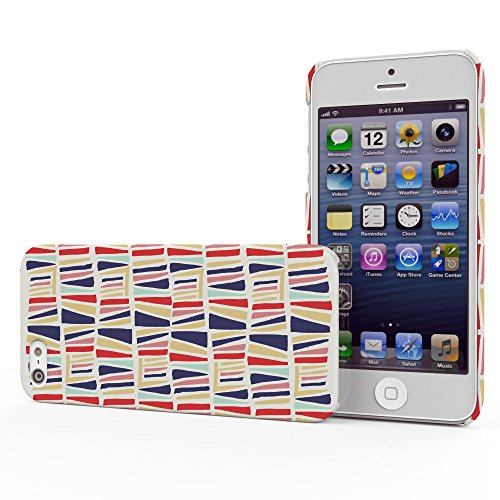 Koveru Back Cover Case for Apple iPhone 5S - Abstract on wall
