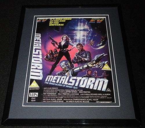(Metalstorm Control Framed 8x10 Repro Poster Display Jeffrey Byron Kelly Preston)