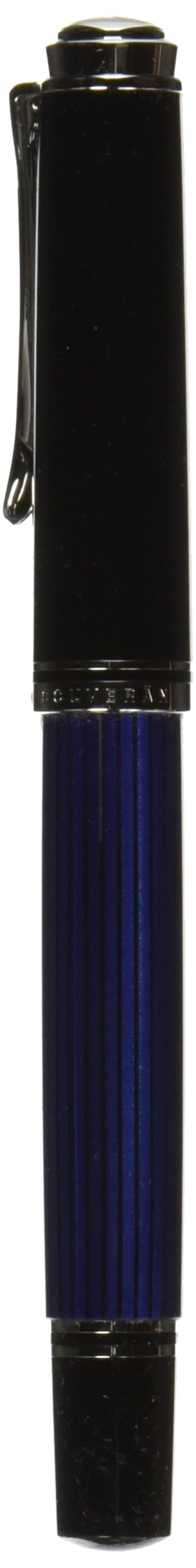 PELIKAN Souveran Fountain Pen Fine, Black/Blue (932814)