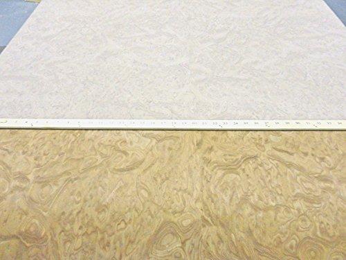 Carpathian Elm Burl composite wood veneer 48