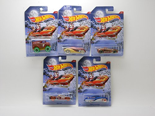 Hot Wheels-2016 Holiday Hot Rods- Complete( Set #1-5).