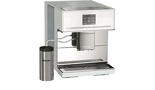 Miele CM 7500 BB cafetera espresso automática color blanco brillante 44,5 x 31,1 x 39,37 cm): Amazon.es: Hogar