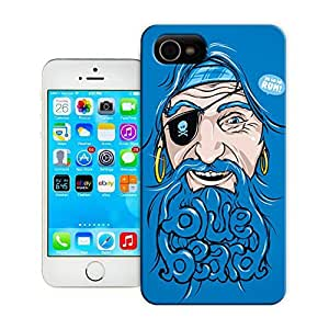 Unique Phone Case Art wall clock Blue Hard Cover for 5.5 inches iphone 6 plus cases-buythecase