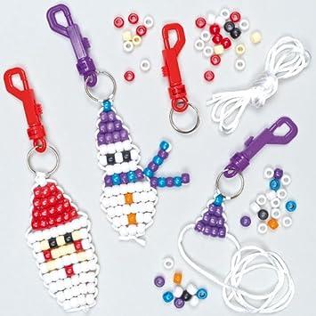 Amazon.com: Creative invierno manualidades Navidad Bead ...