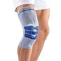 Bauerfeind GenuTrain Right A3 Knee Support (Titanium, 3)
