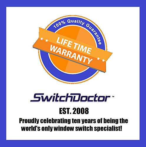 SwitchDoctor Compatible Window Master Control Switch Replacement for 1994-2002 Chevrolet Camaro Switch Doctor