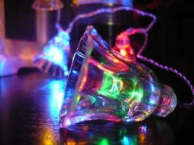 ORANGE TREE TRADE Multi Color Bell LED String Lights; LED Christmas Lights; Party Lights